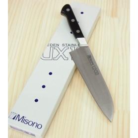 Japanese Santoku Knife - MISONO - UX 10 Serie - Sweden Stainless Steel - Size: 18cm