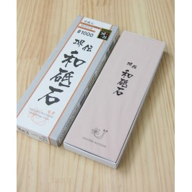 Whetstone Knife Sharpener - only for stainless steel - Grit 1.000 - NANIWA - Sakaiden Watoishi Serie