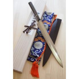 Japanese Yanagiba Knife - SUISIN - Fuji Honyaki - Size: 30cm