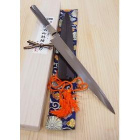 Japanese Yanagiba Knife - SUISIN - Honyaki - Special Shiro 1 Serie - Size: 30cm