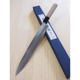 Japanese Yanagiba Knife for left-handed - MIURA - Molybdenum Serie - Size: 27cm