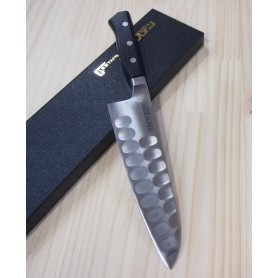 Faca japonesa do chef gyuto GLESTAIN 819TK Tam:17CM