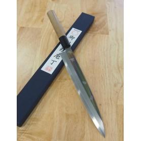 Faca japonesa yanagiba MIURA Inox - Tam:24cm