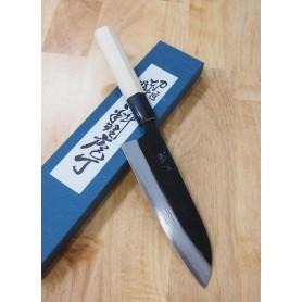 Faca japonesa santoku MIURA White steel 2 damascus Tam:17cm
