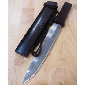 Kennata TAKESHI SAJI White steel damascus Tam:28cm