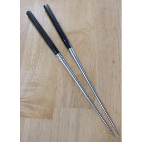 Moribashi - Polygon Wood Handle - Honyaki Stainless Steel - 29 / 32cm
